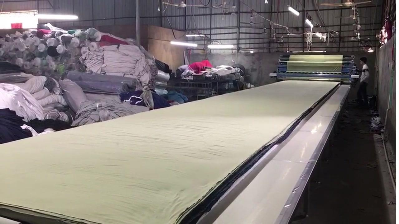 All cotton fabric spreading
