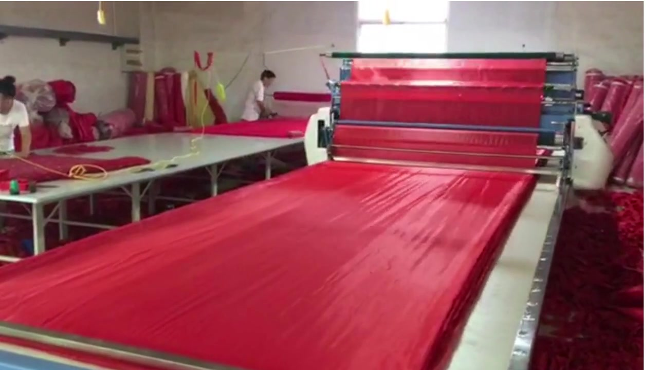 Lining Fabric Spreading double way spreading