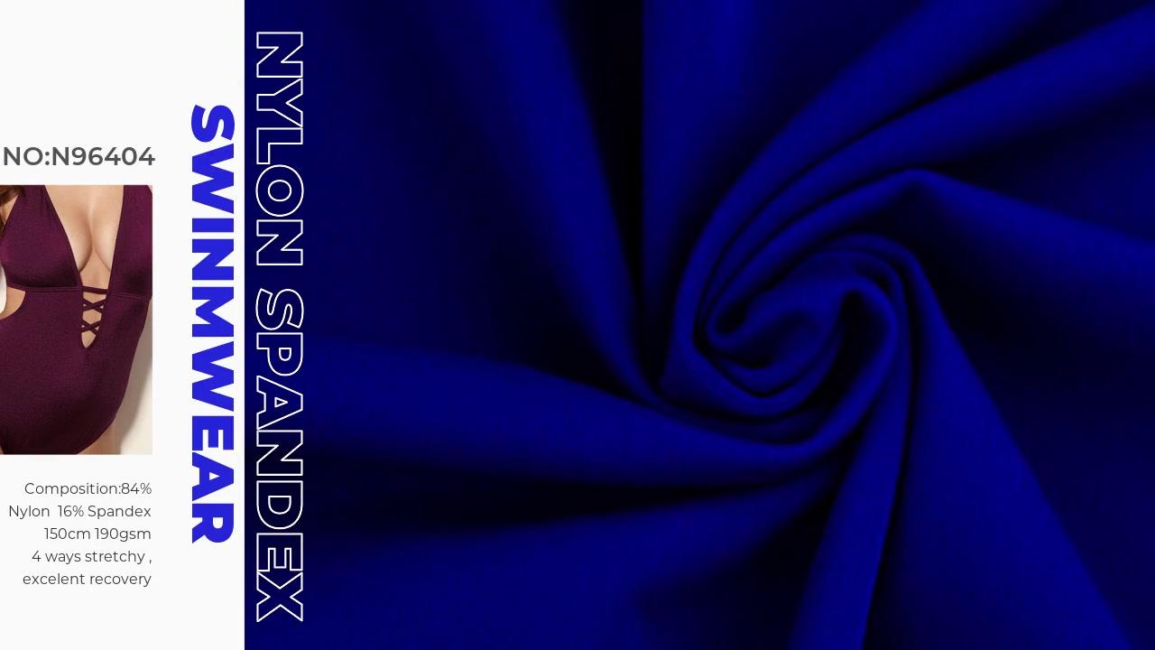 Xinxingya dệt kim Nylon Spandex Chất liệu vải đồ bơi