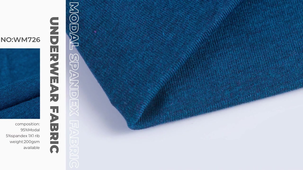 Xinxingya Вязание Превосходный модальный материал из спандекса