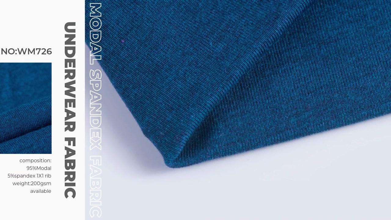 Morbi a Superiore Knitting Xinxingya modales Spandex Material