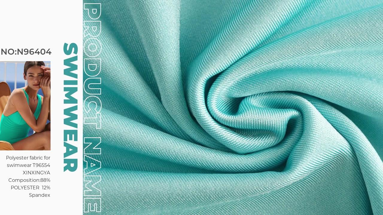 Tissu polyester pour maillot de bain T96554 XINXINGYA