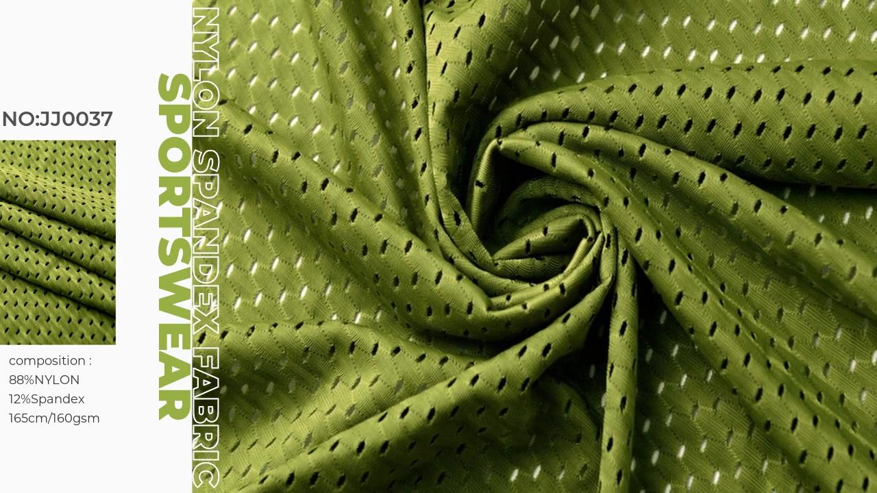 Tela de malla de spandex de nailon xinxingya para sujetador deportivo