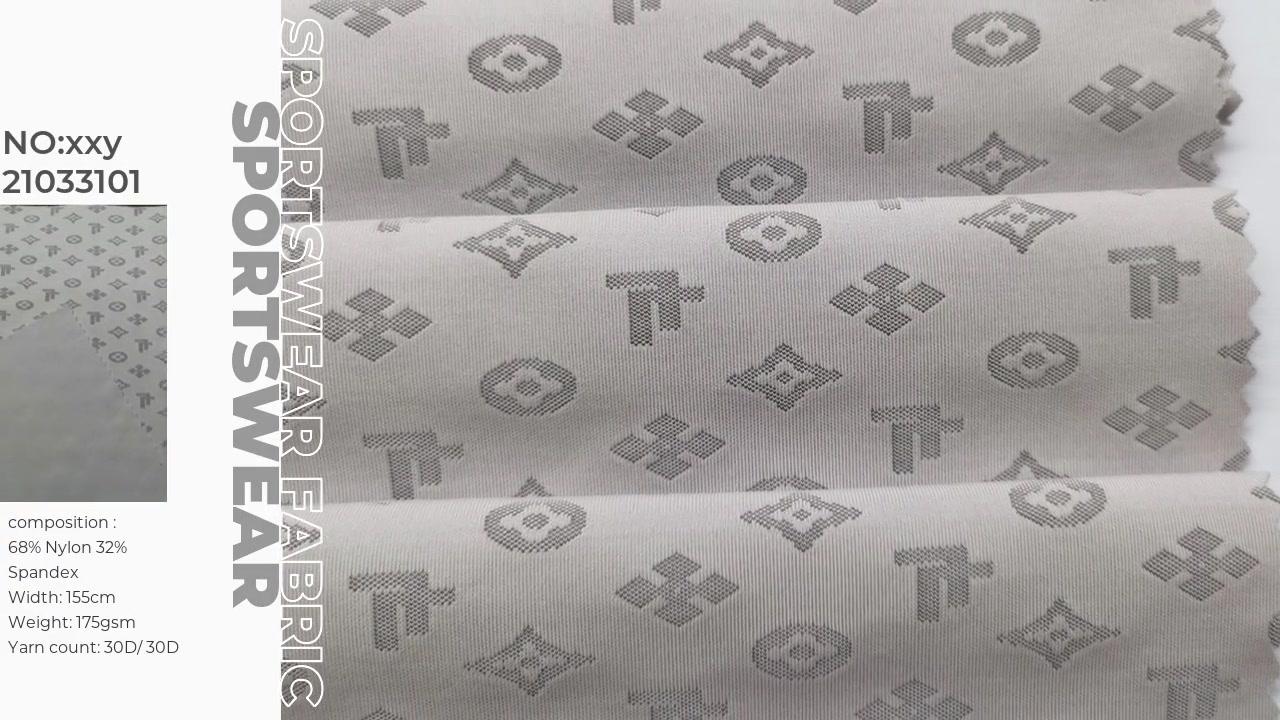 Vải nylon spandex jacquard cung cấp xinxingya