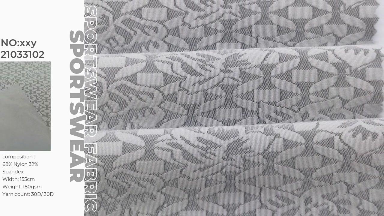 Nylon Spandex Tissu Jacquard Xinxingya Fourniture