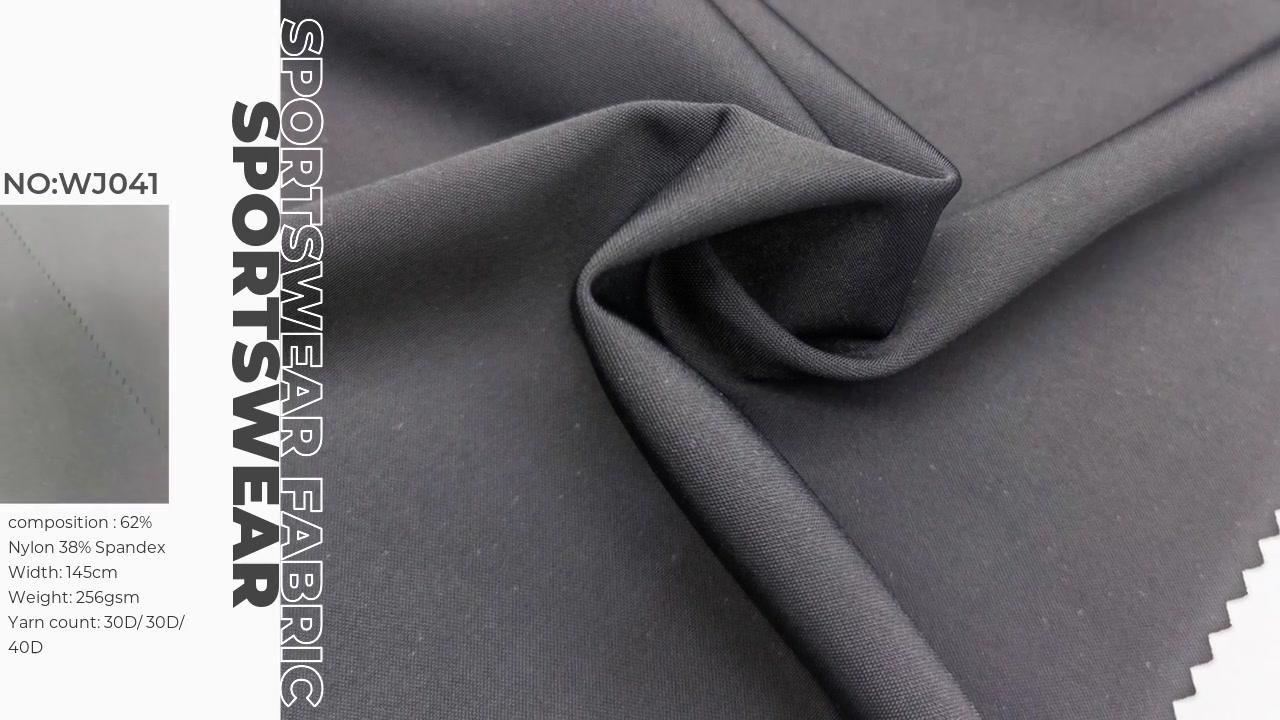 High strectcy spacer interlock for yoga legging sports wear fabric  62%nylon 38%spandex XXY WJ041