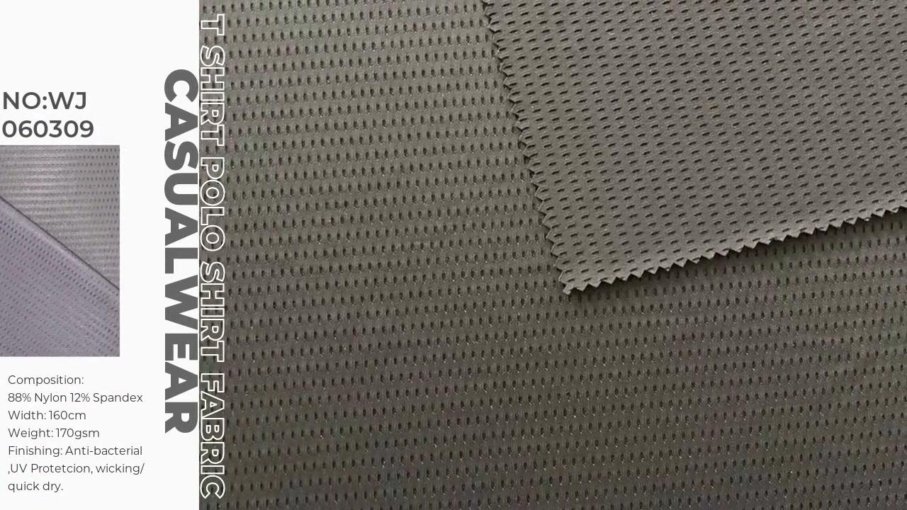 Полиамидная спандекс полосальная сетка дышащая ткань