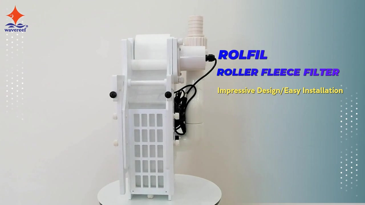 ROLFIL ROLLER FLEECE FILTER