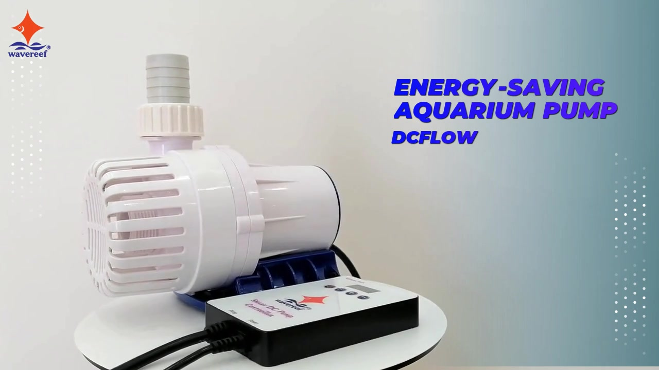 Energy saving DCFlow aquarium pump