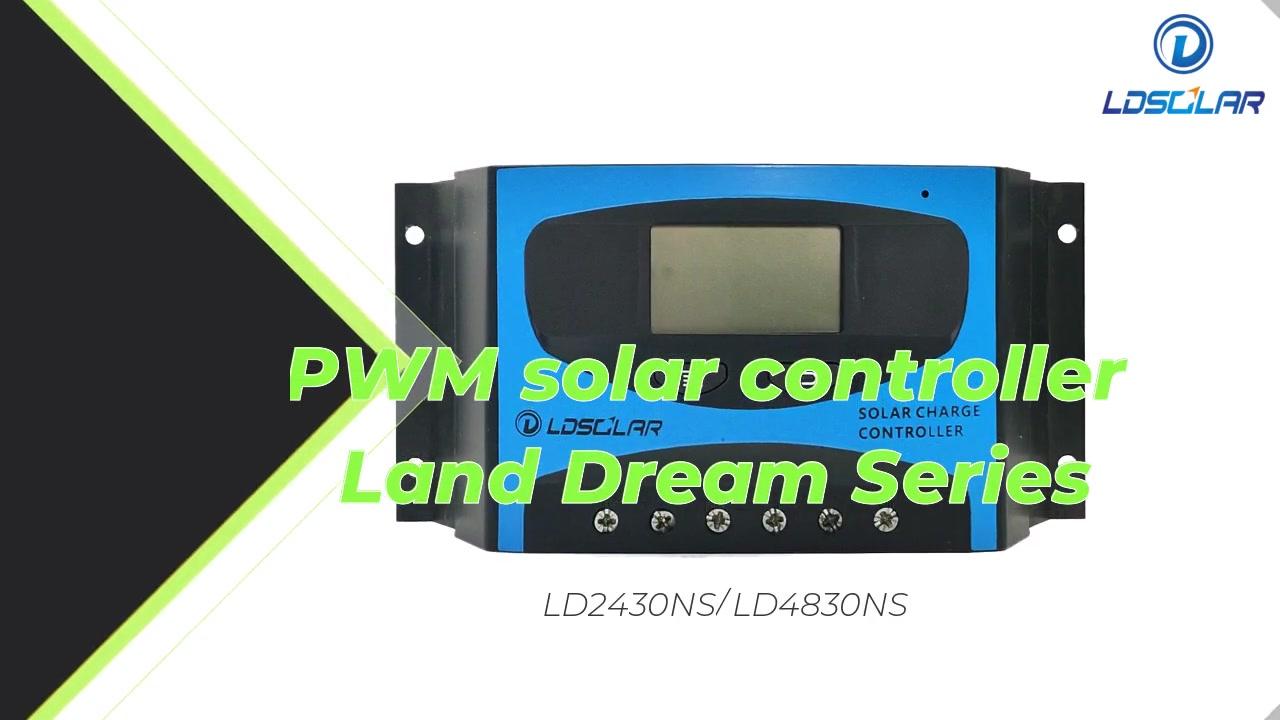 Best PWM Solar Controller LD2430NS / LD4830NS سعر المصنع -