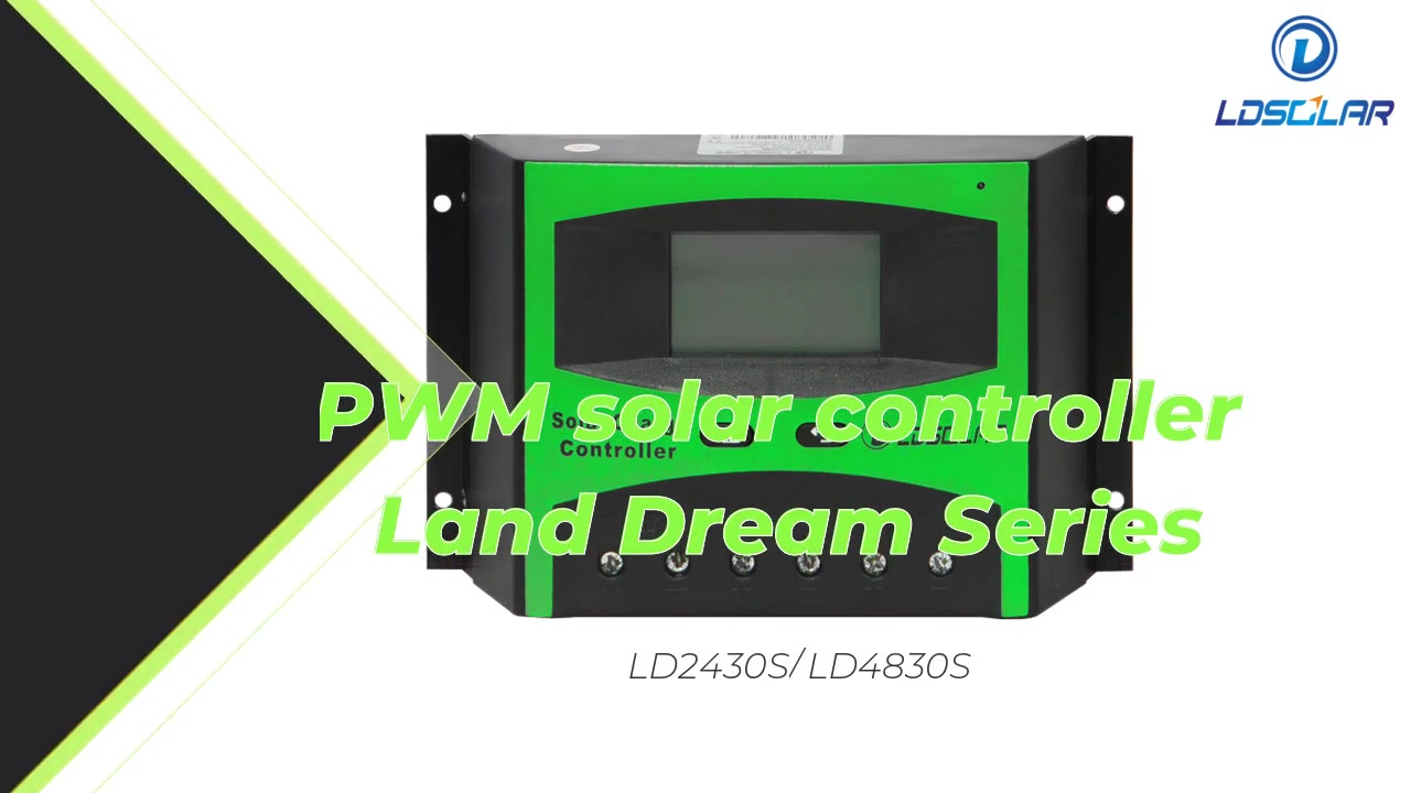PWM Solar Controller LD2430S / LD 4830S