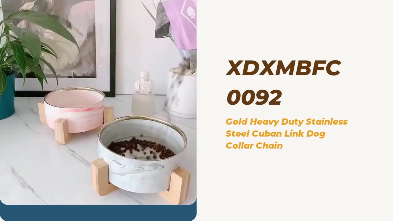 Customized Wooden insulated Marble Pet Cat Dog Ceramic Dogs Bowl Free Sample manufacturers From China