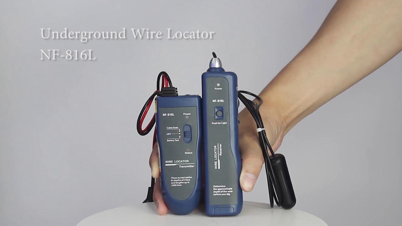 Lokalizator kablowy Lokalizator Underground Wire NF-816L