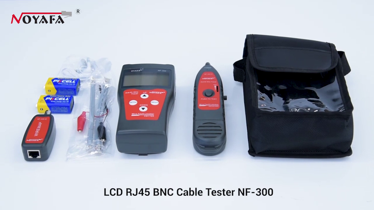 Multifunction cable tester LCD Cable tester NF-300