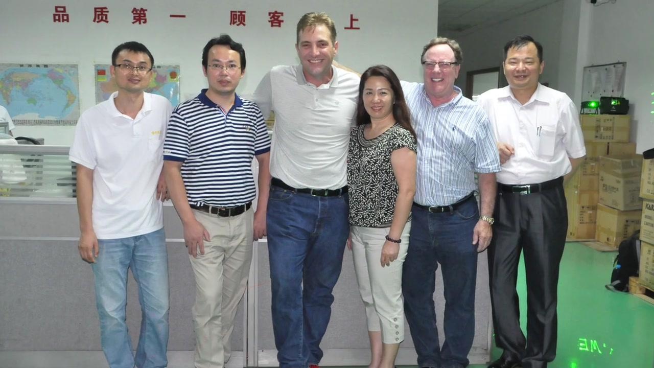 Visita profesional de la fábrica de la Layu Fabricantes