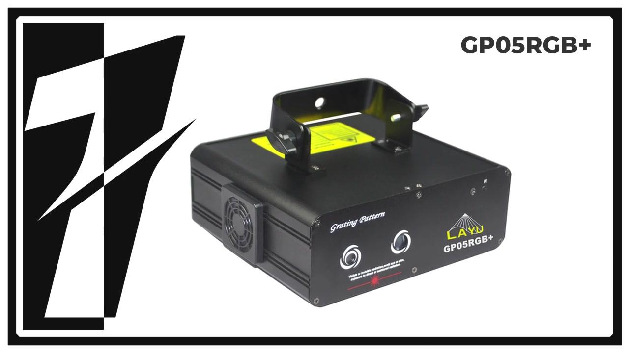 LAY GP05RGB +格子効果パーティレーザーライト