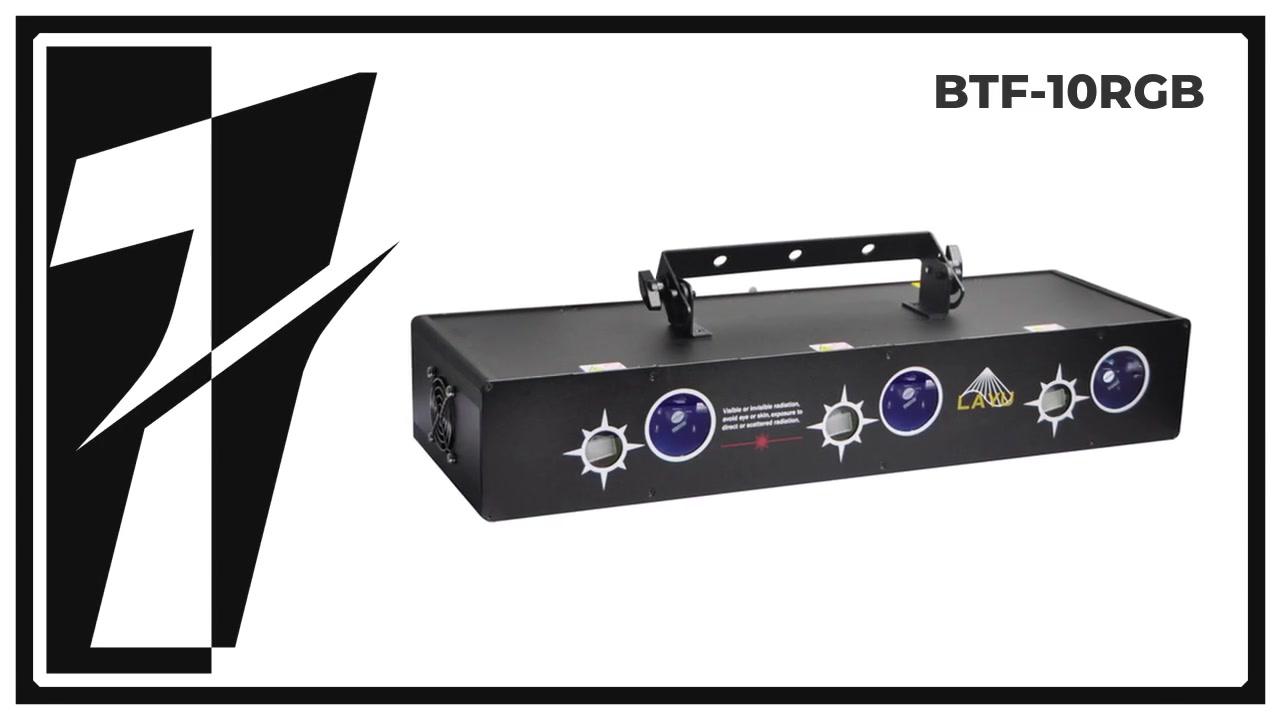 LAURE BTF-10RGB 6 Глава RGB Луч и Звездный эффект Лазерный свет