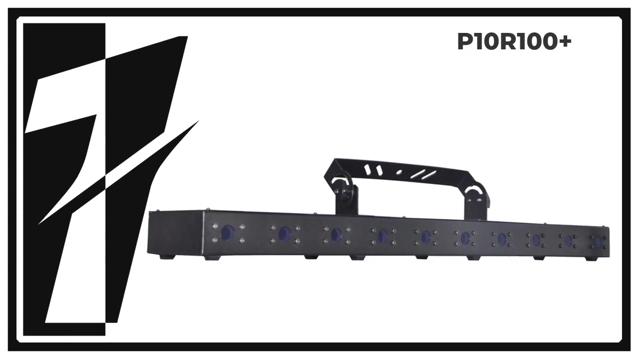 SHOYU P10R100 + 10 CABEZA ARRAY DE LASER ROJO