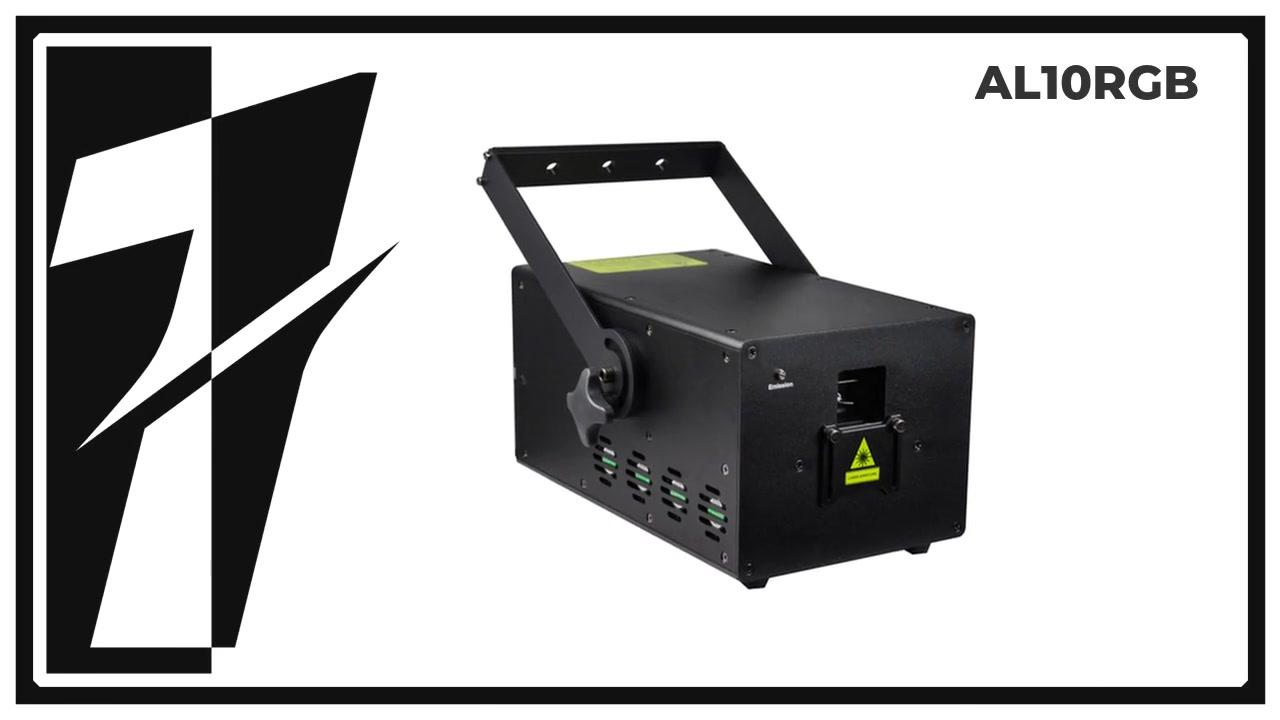 LAYU AL10RGB-PRO 10 W RGB Animasi Laser Light Projector
