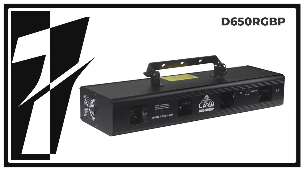 Layu D650RGBP 4 หัว RGBP ลำแสงเลเซอร์
