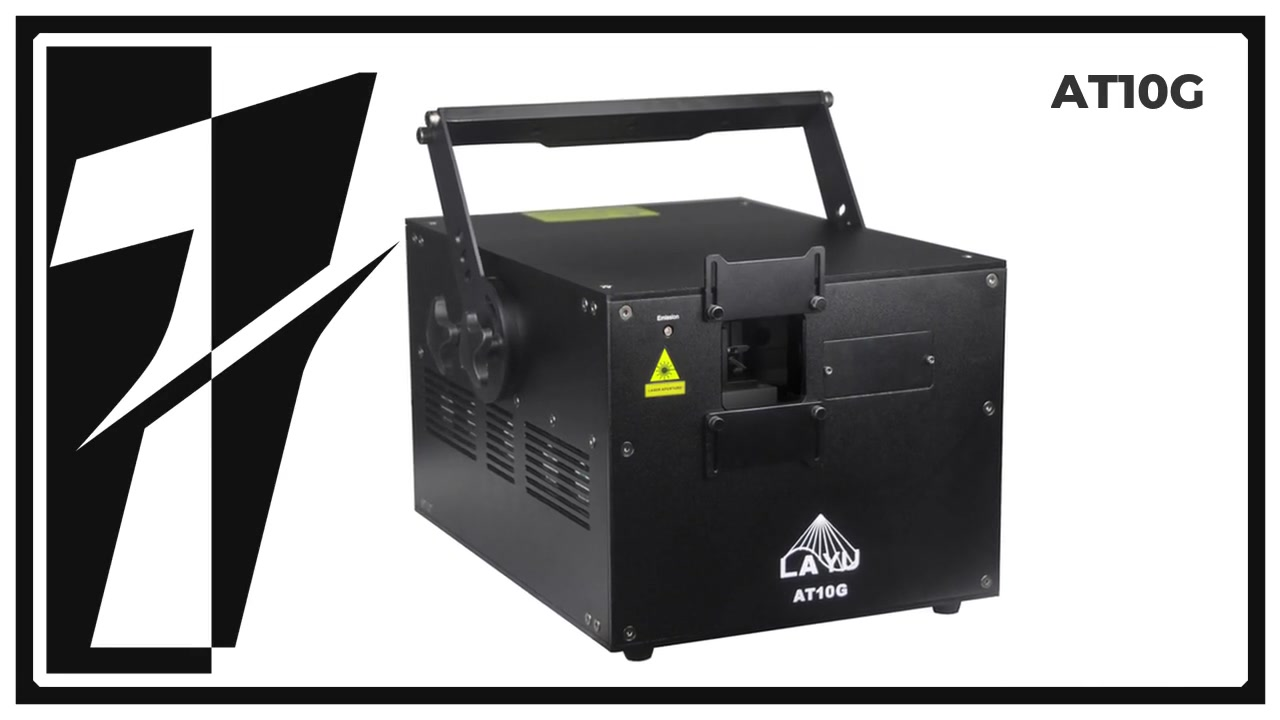 LAYU AT10G 10W green animation laser light for outdoor show
