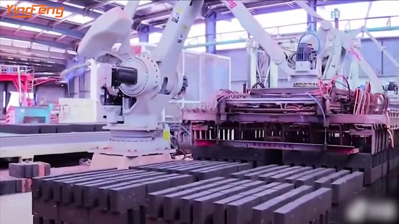 VP90 Yingfeng полностью автоматическая линия производства кирпича глины с туннелем в Китае
