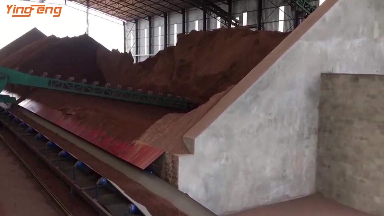 VP90 Fully Automatic Red Clay Brick Production Line With Rotary Tunnel Kiln