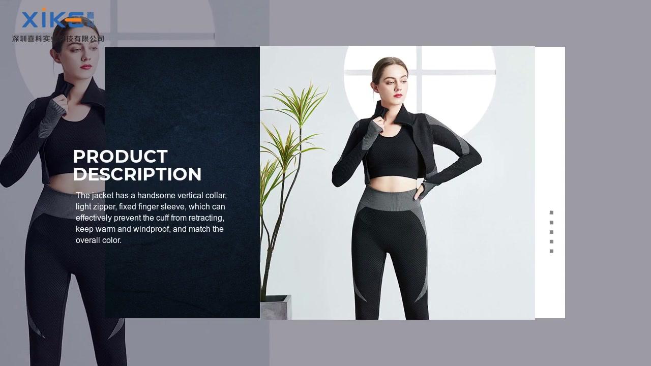 Meilleur vêtement de yoga personnalisé Fabricants XK200805