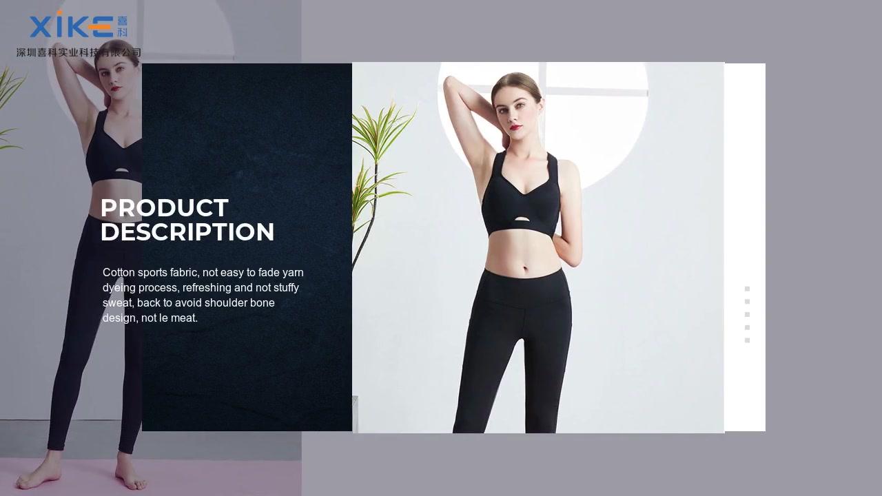 OEM sur mesure personnalisé vêtements de yoga élégants fabricants de la Chine