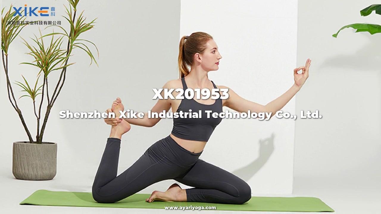 Oem damer high-end fuktabsorption snabbtorkande andningsbara sport yoga kostym anpassade