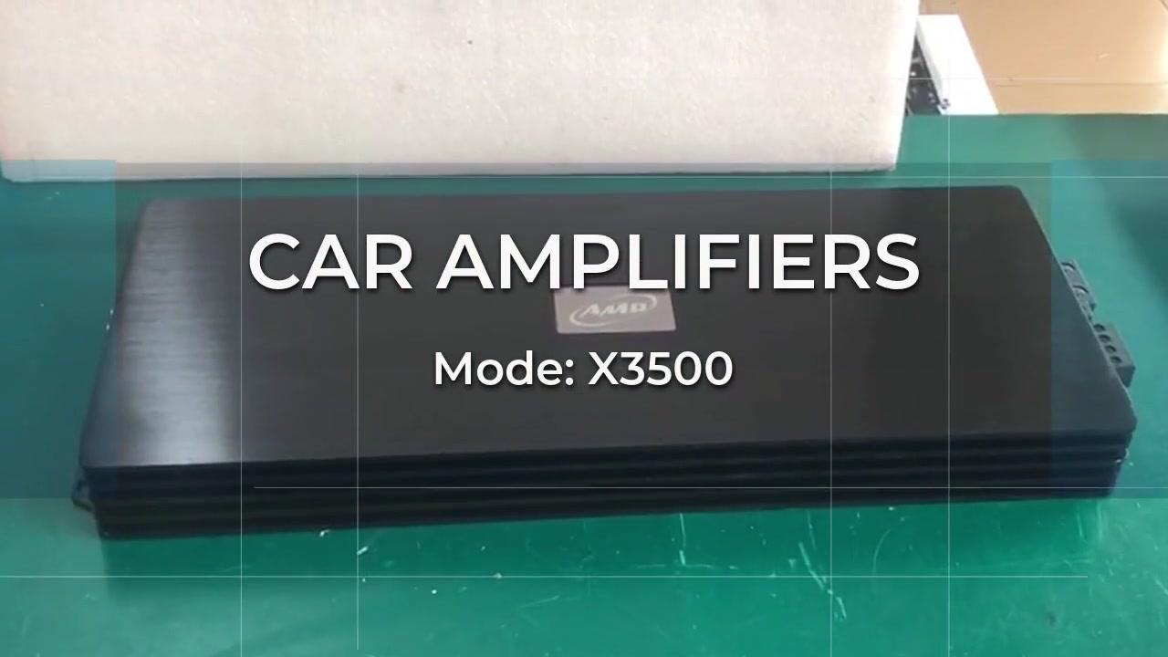 AMPLIFICATEURS DE VOITURE X3500