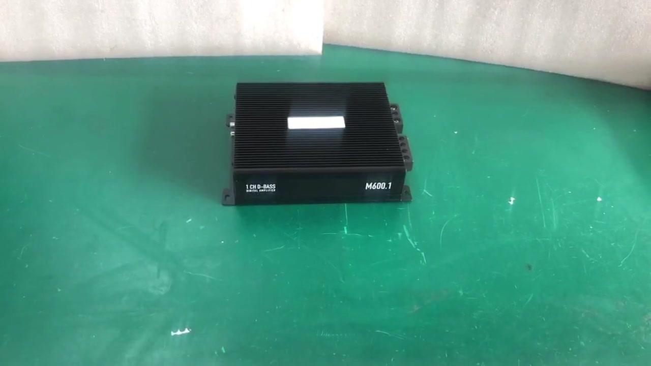 Araba Amplifikatörü K600 Siyah