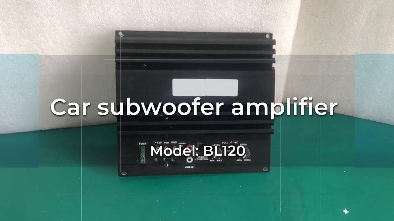 China-Auto-Subwoofer-Verstärker BL120-Hersteller-besser