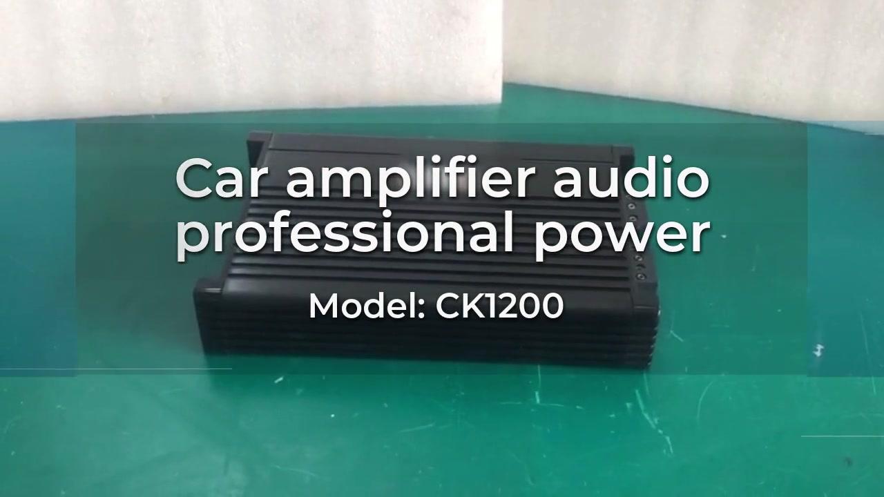 Toptan araba amplifikatör ses profesyonel güç ck1200 withgoodprice-daha iyi
