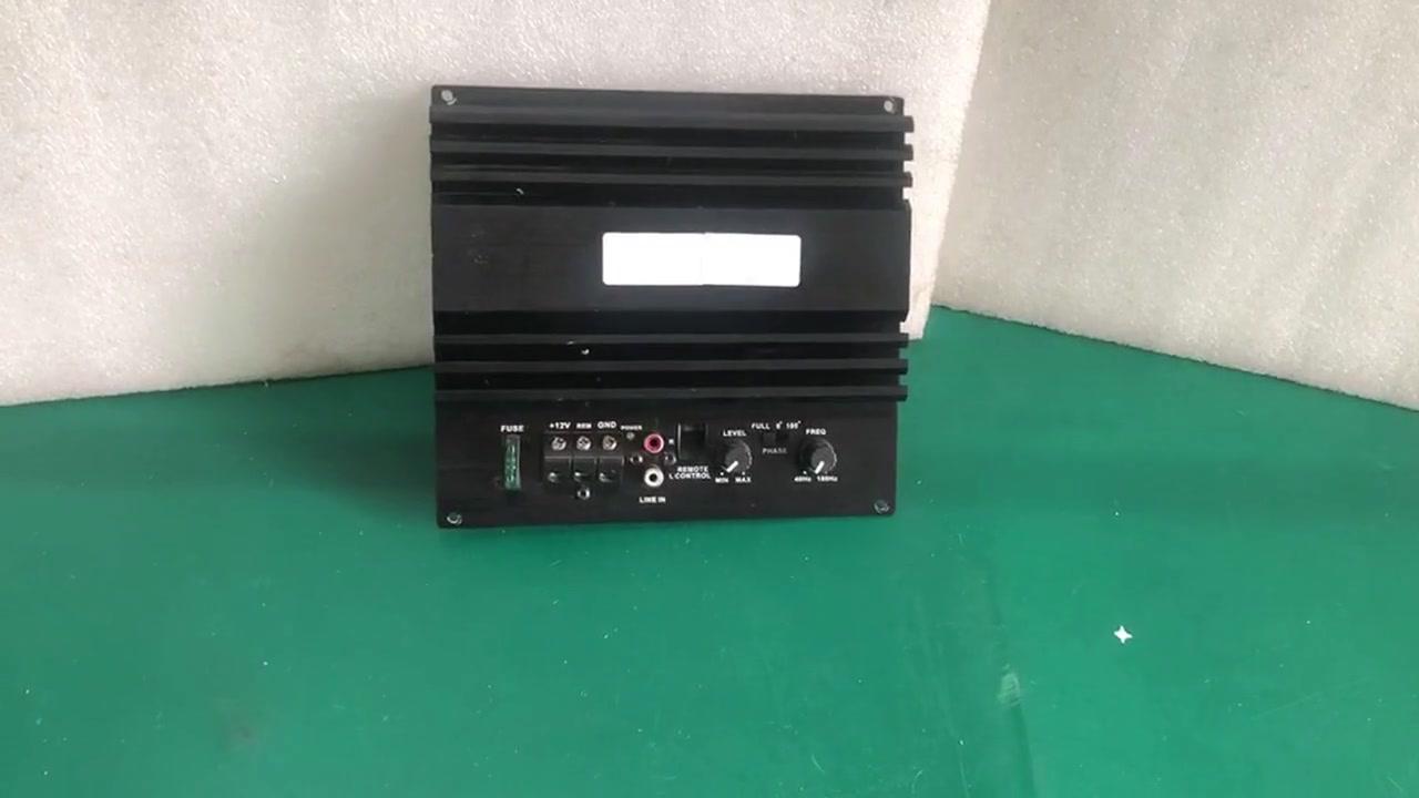 Best car bass subwoofer amplifier Supplier