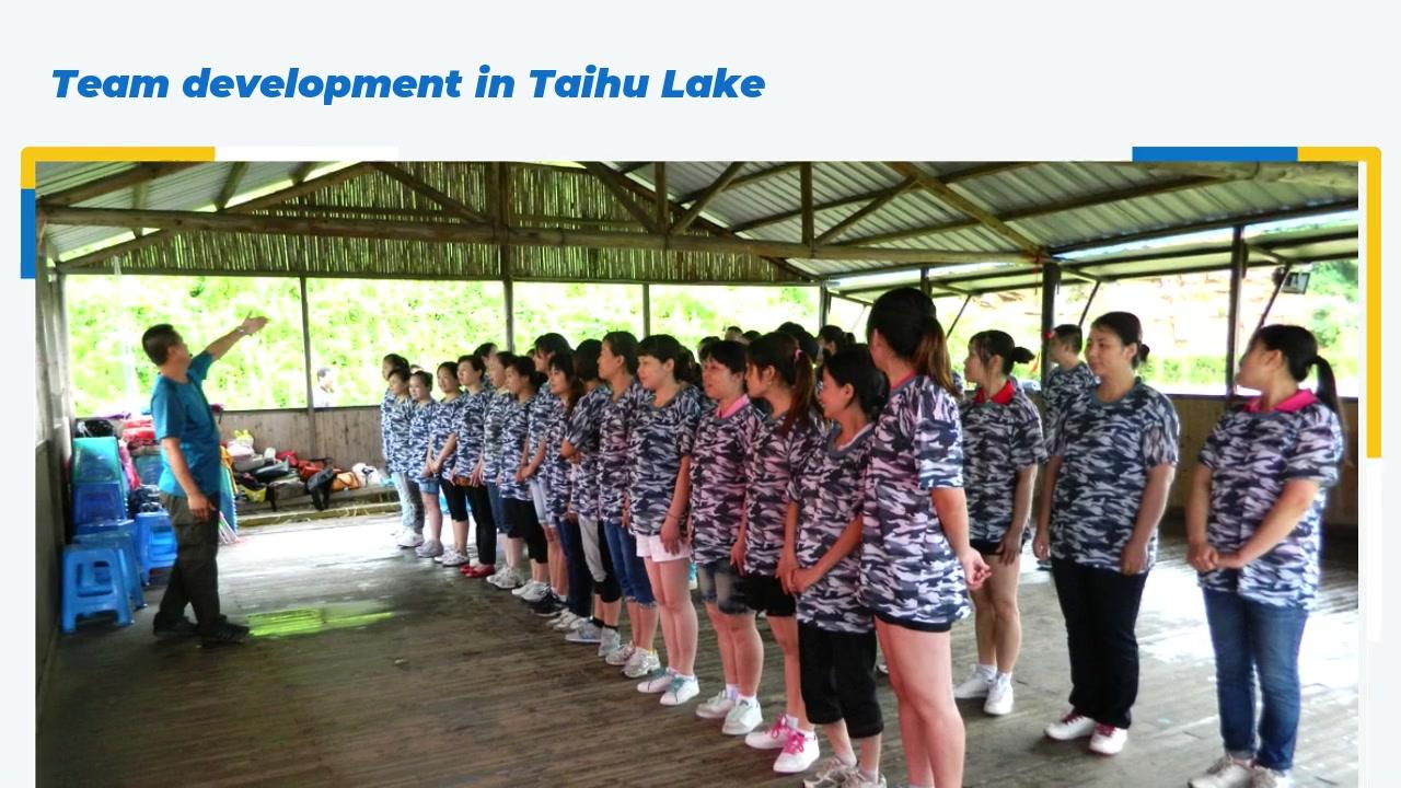 Team development in Taihu Lake