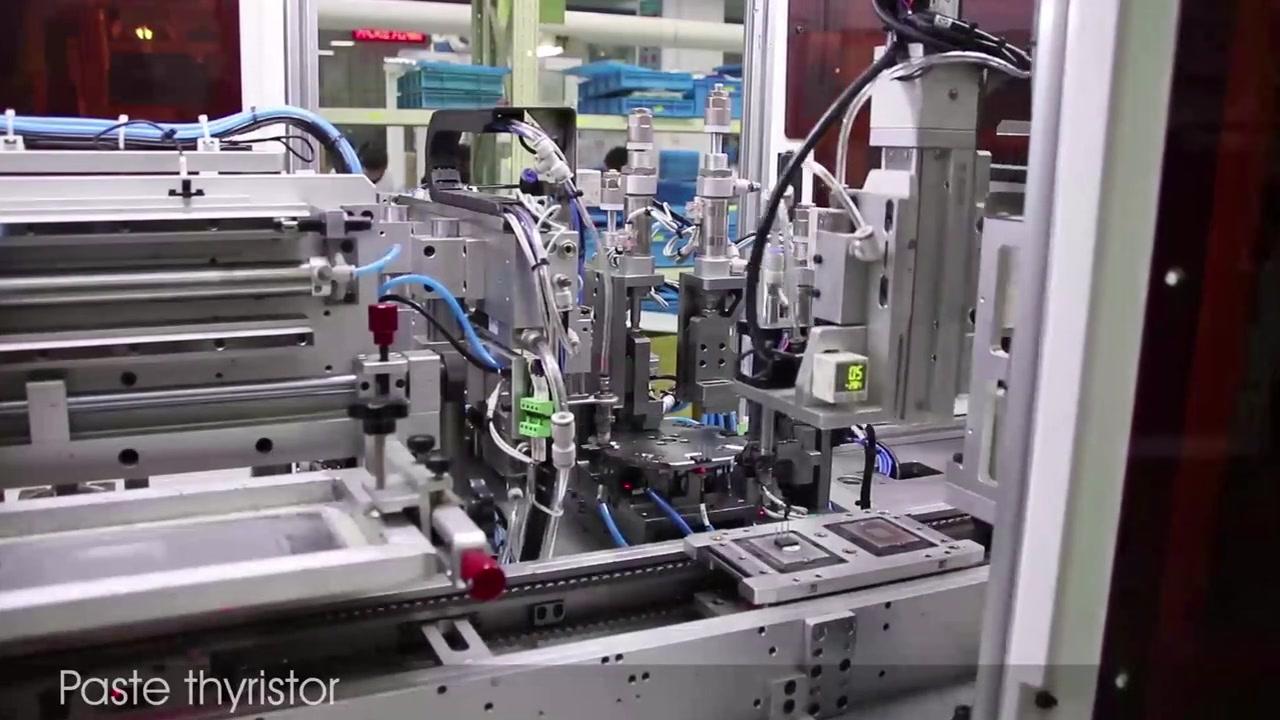 Quy trình sản xuất rơle trạng thái rắn