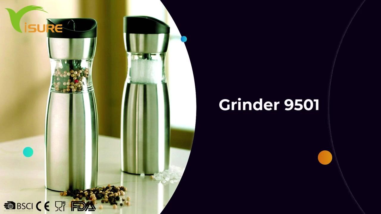 Best Electric Salt And Pepper Shakers Grinder gravity salt and pepper mills -9501