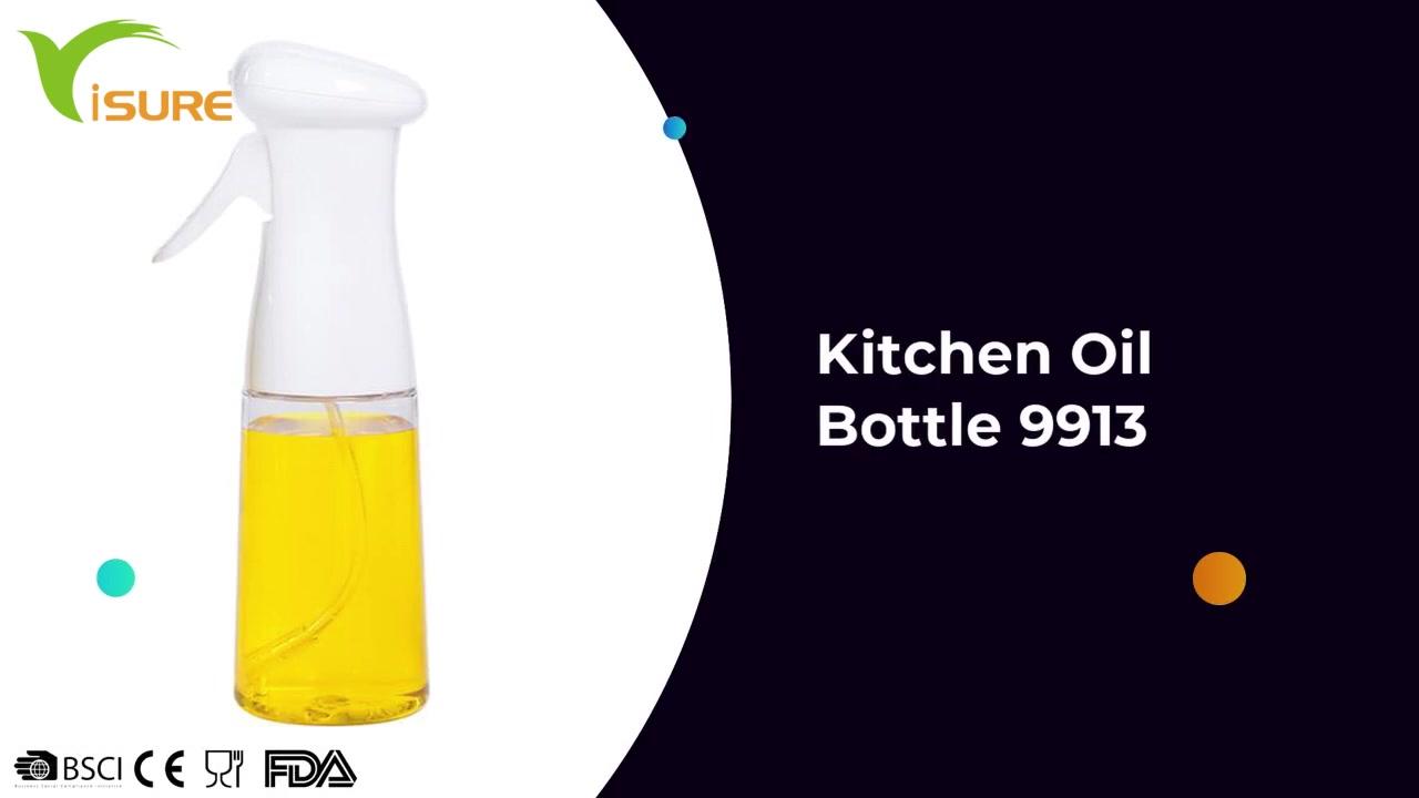 200 ML Kitchen Cooking Glass Vinegar Bottles Oil Dispenser Mist Sprayer Kitchen Oil Bottle 9913