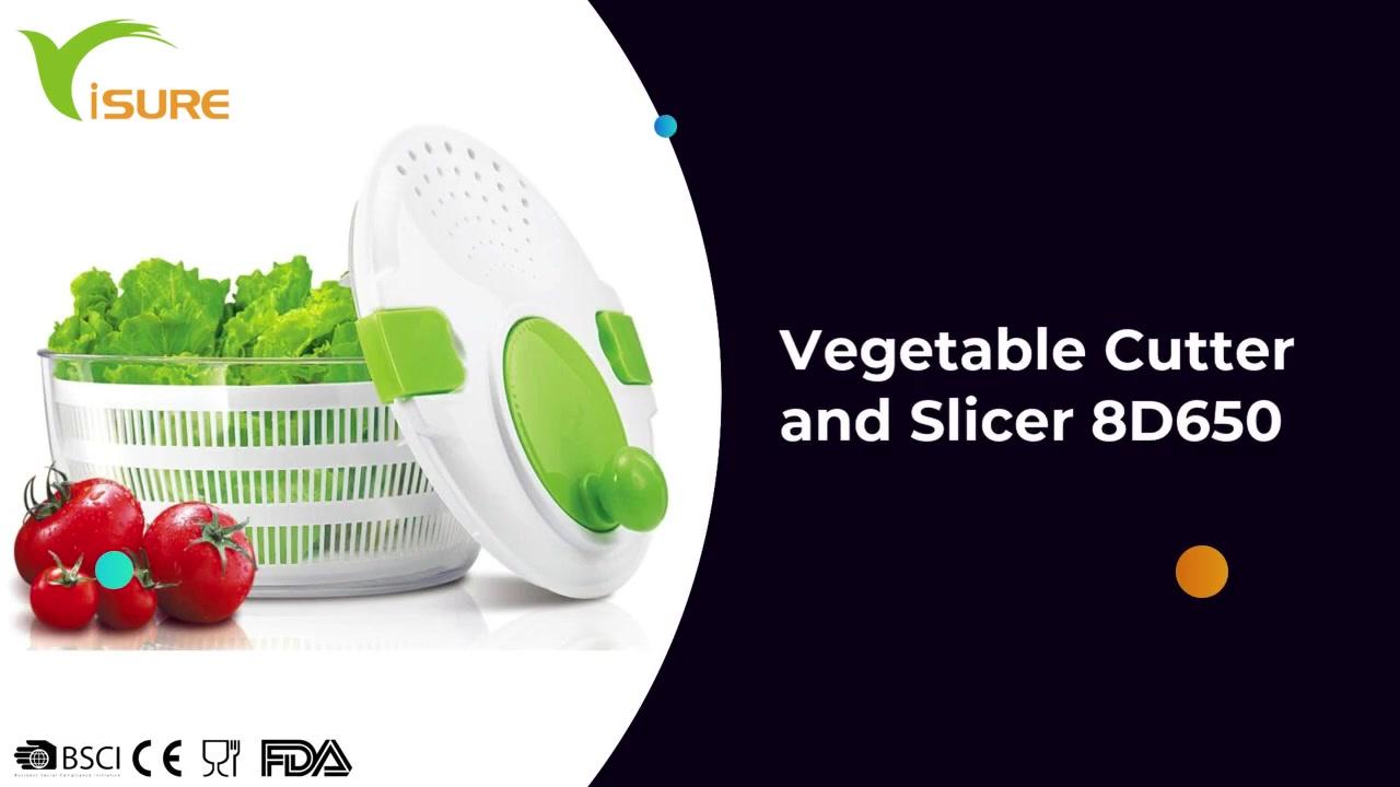 Cortador y rebanador de verduras 8D650