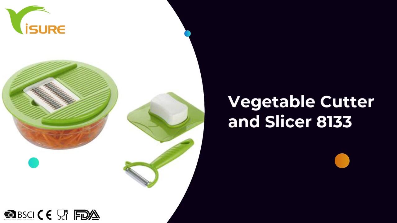 Cortador y rebanador de verduras 8133