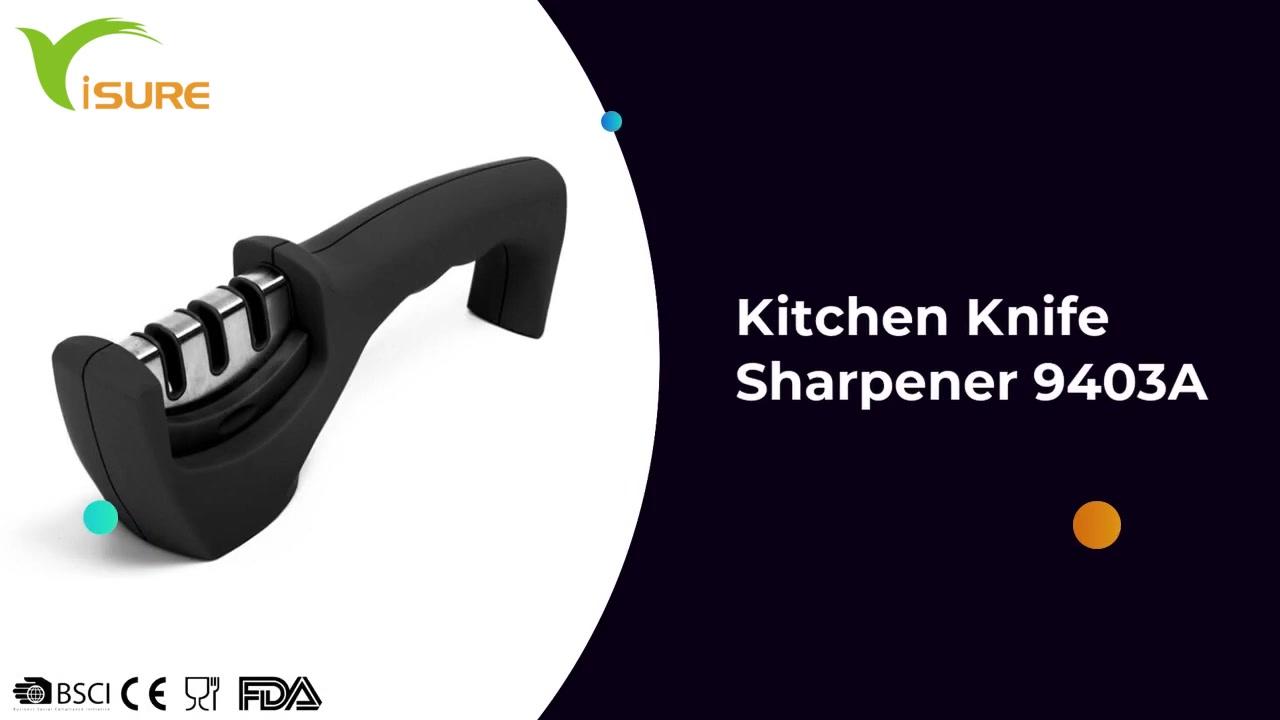 Amazon Vendita calda Professional Gestione della cucina in acciaio inox Knitener Coltello 9403A
