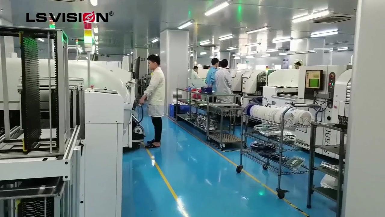 CCTV Producent bezpieczeństwa wysokiej jakości obszar produkcji technologii bez kurzu