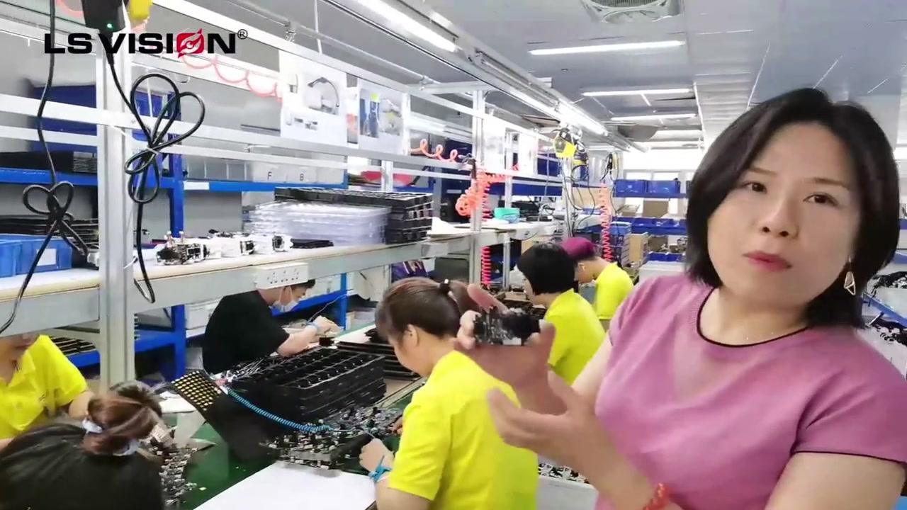 Wysokiej jakości przemysłowe produkty bezpieczeństwa CCTV i fabryka produkcji inteligentnych kamer domowych