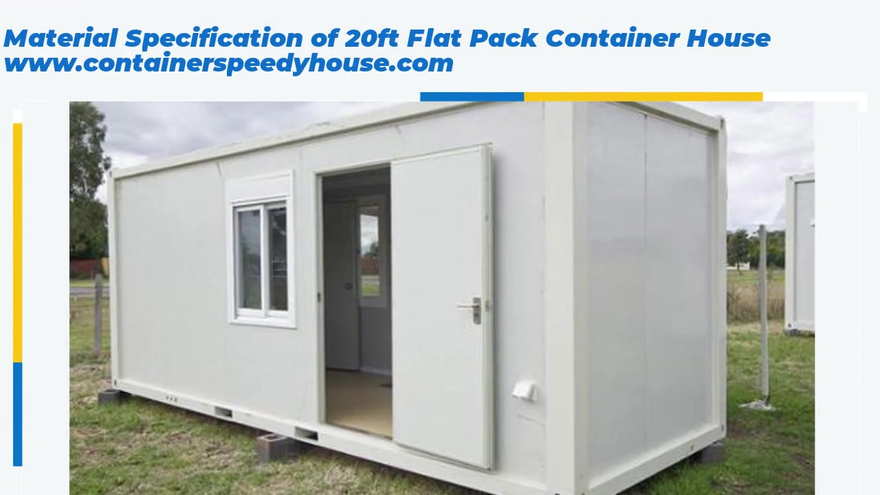 Best Quality Specification of Flat Pack Container Factory