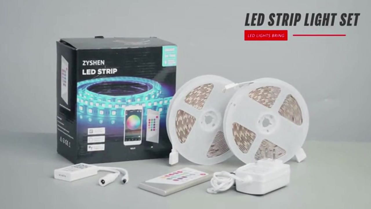 Led-strip ljus