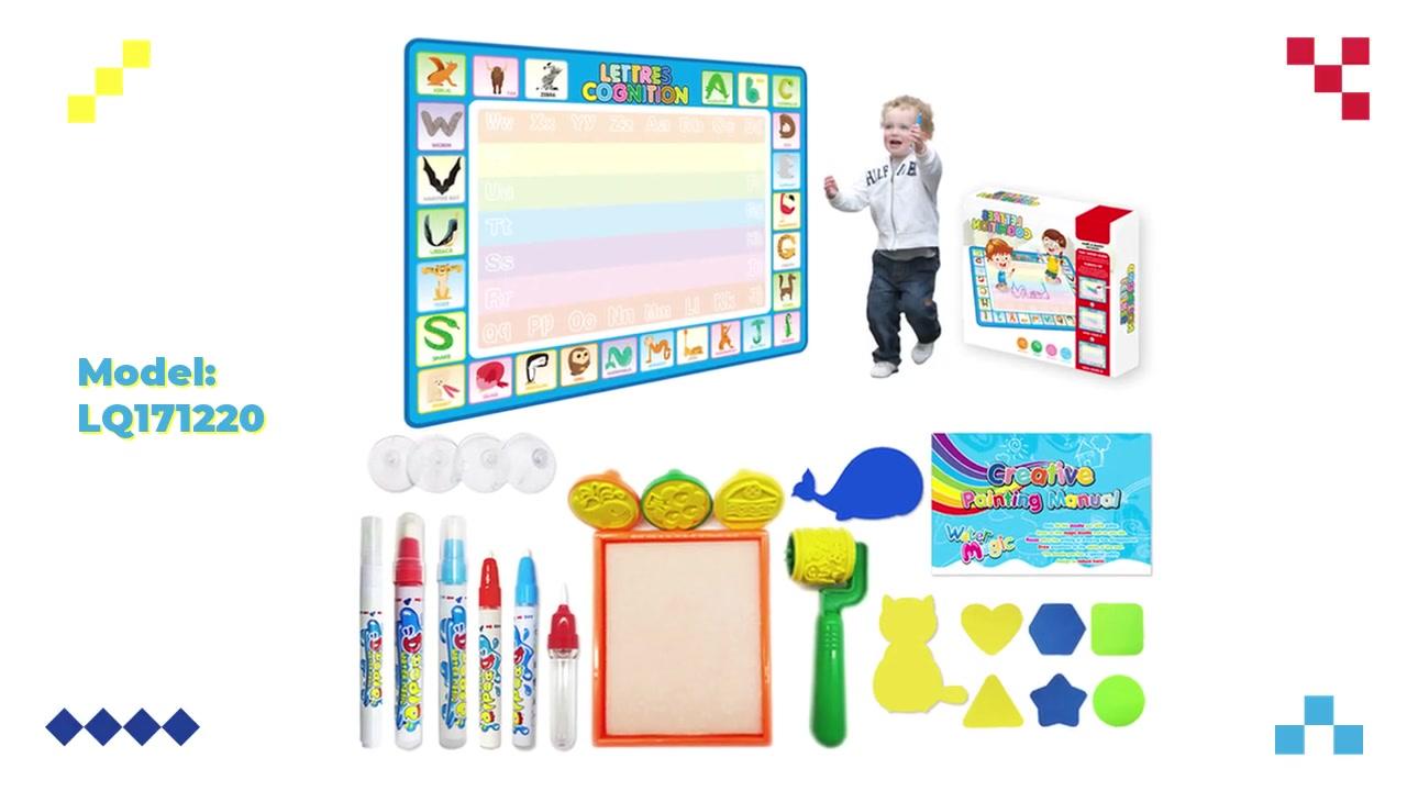 최고의 OEM / Aquadoodle 매트 낙서 어린이 초기 교육 담요 장난감 물 낙서 공급 업체