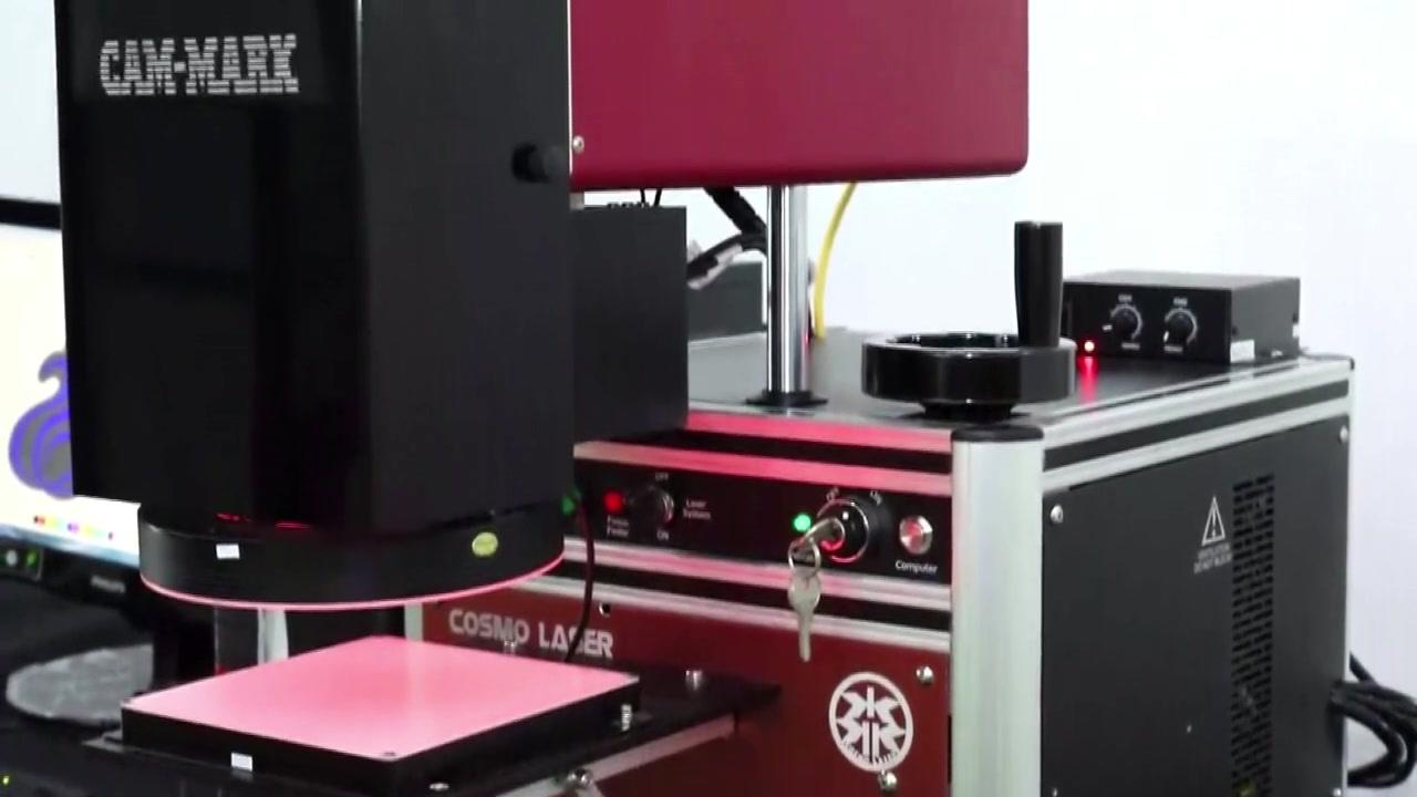 مقدمة إلى آلة علامات التقاط الكاميرا مع نظام تحديد المواقع المرئي CCD | كوزمو ليزر
