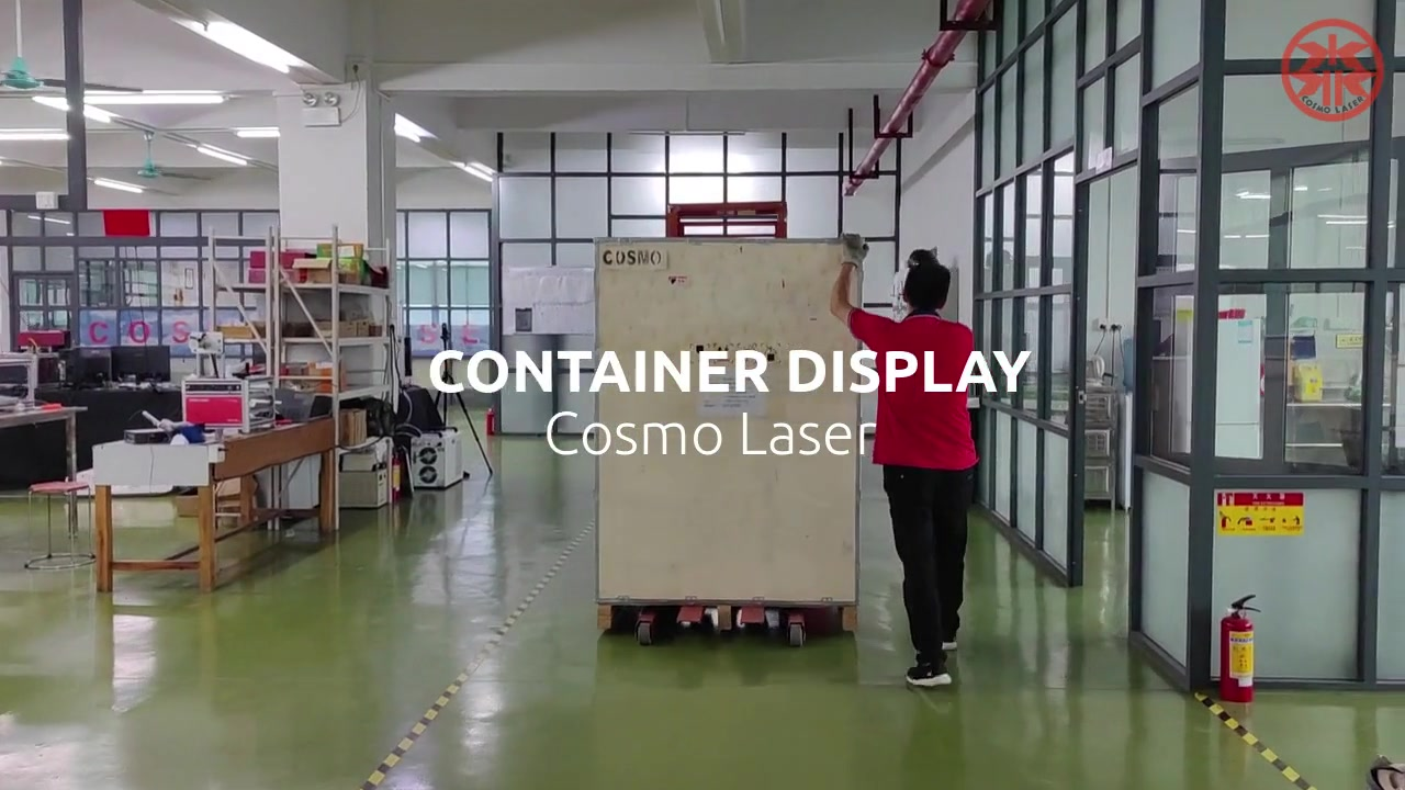Product Package Display -- Pack the Goods Well in the Container Before Shipping