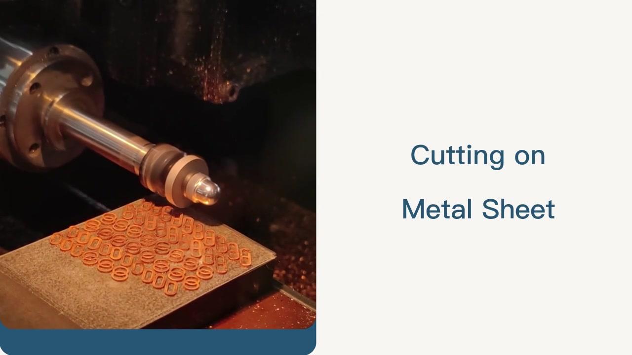 Máy cắt thiết kế CNC cắt trên tấm kim loại | Cosmo laser.